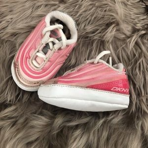 DKNY Pink Baby Shoes